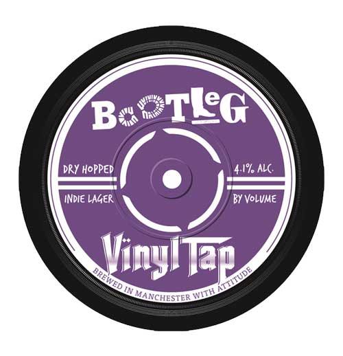 Bootleg Vinyl Tap Indie Lager